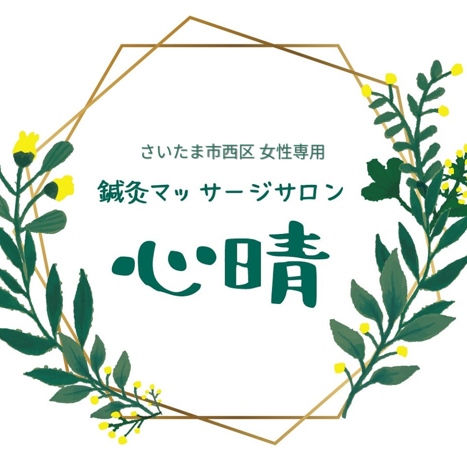 西大宮・指扇 女性専用 鍼灸マッサージサロン心晴